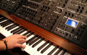 synth musician